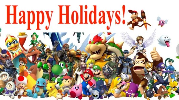 Happy Holidays Nintendo