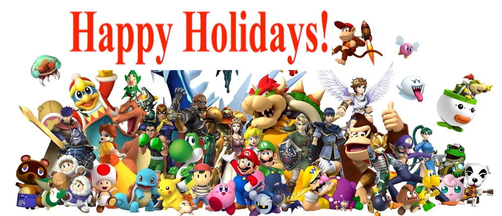 Happy Holidays Nintendo