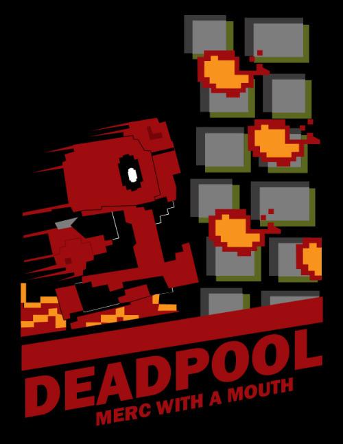 Deadpool Nes Box Art By Sharkbomb Goomba Stomp