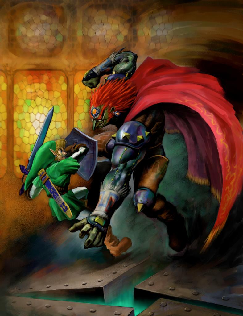 Link_vs._Ganondorf_(Ocarina_of_Time)