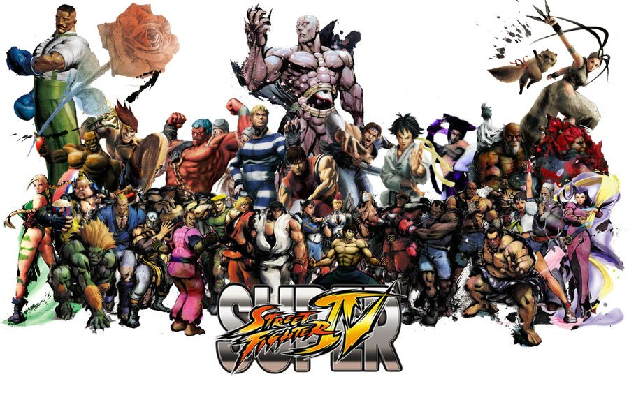 Super_Street_Fighter_4_Roster_by_Lunchbox53881