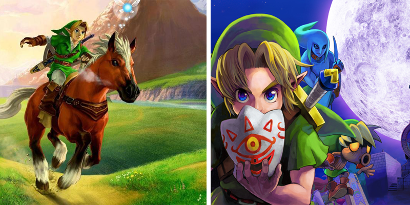 Similar but not the same: 'Ocarina of Time' vs 'Majora's Mask' | Goomba Stomp