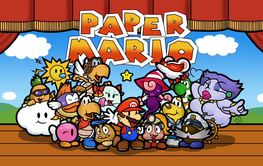 paper mario sticker star 4-1 help