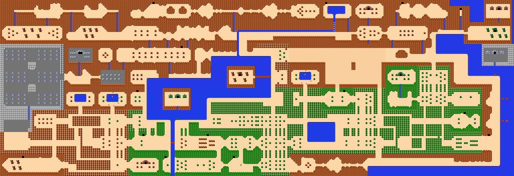 zelda-overworld(map)