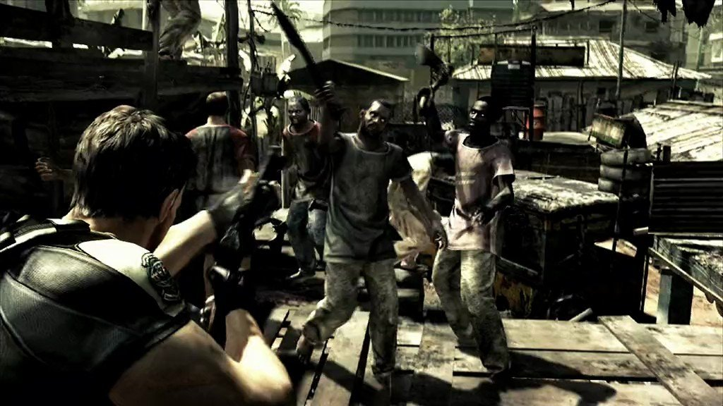 The Time Is Right For Resident Evil 5 On The Wii U Goomba Stomp
