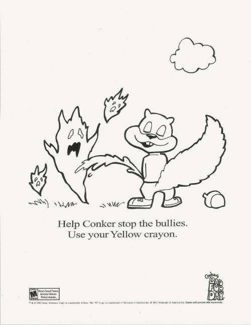 Conker's Bad Fur Day ad