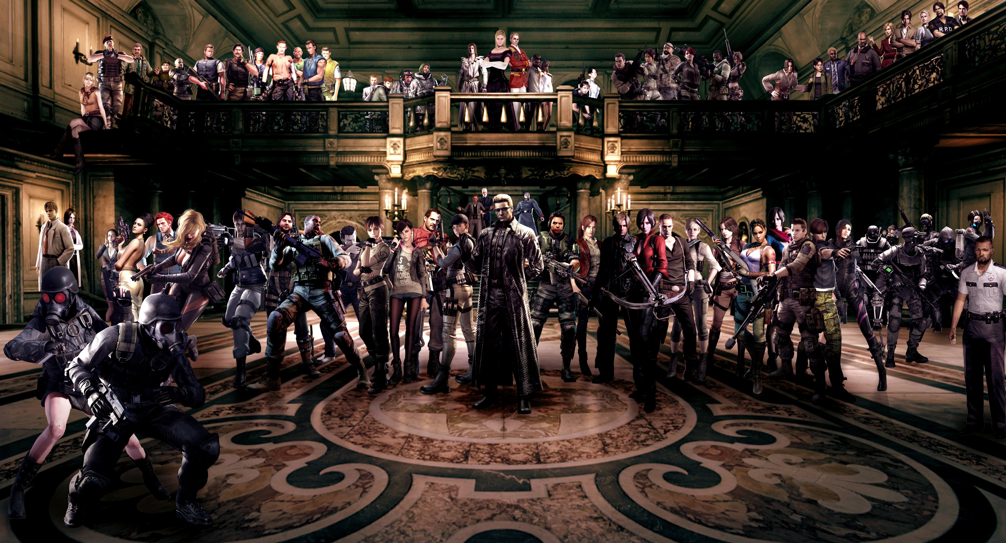 Ten Best Resident Evil Games