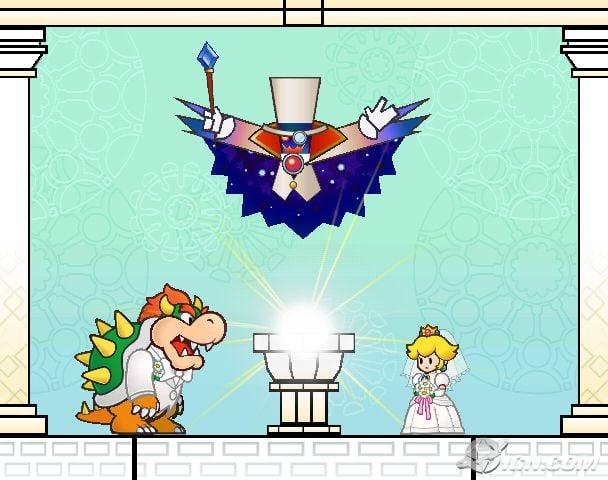 Sad ending Super Mario