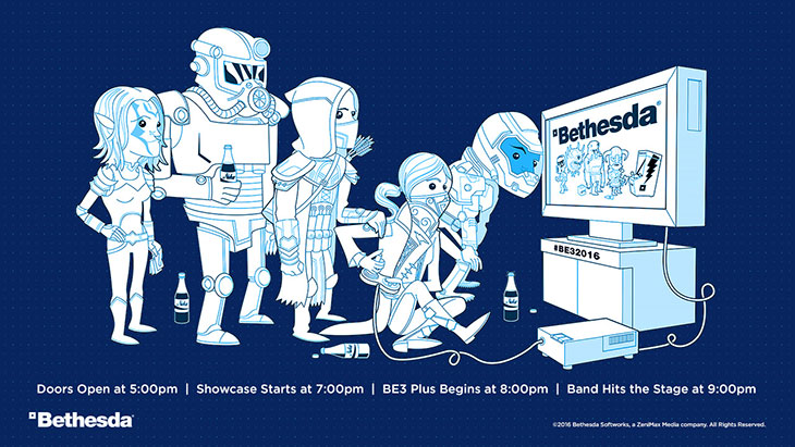 Bethesda-E3-2016-announcement