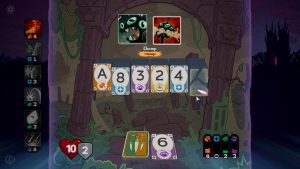 Managing spells and dealing with enemy skills while matching cards is the core of Solitairica's gameplay.