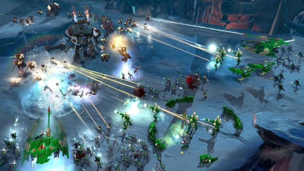 Dawn of War 3, one of the most anticipated games and a great way to start the show