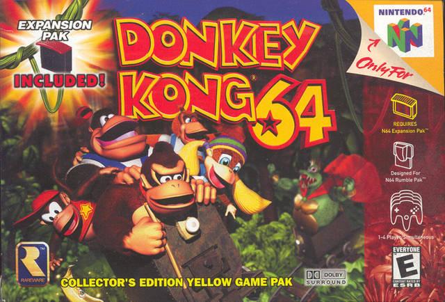 Donkey Kong N64
