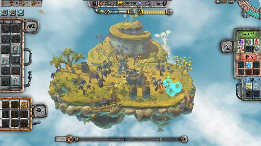 Islands are a lot smaller then they look, so proper building placement is important