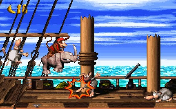 Ranking The Donkey Kong Country Series: Donkey Kong Country 2: Diddy's Kong Quest