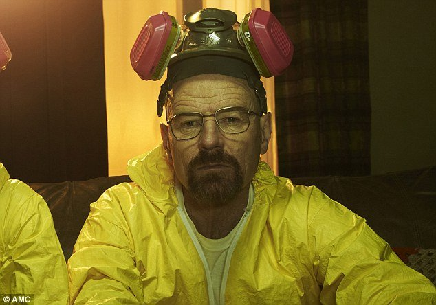 Hey, why's Malcolm in the Middle's dad wearing a hazmat suit?