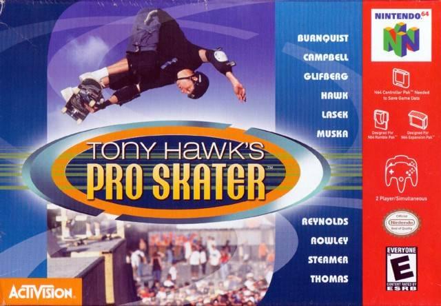 Tony Hawk's Pro Skater N64
