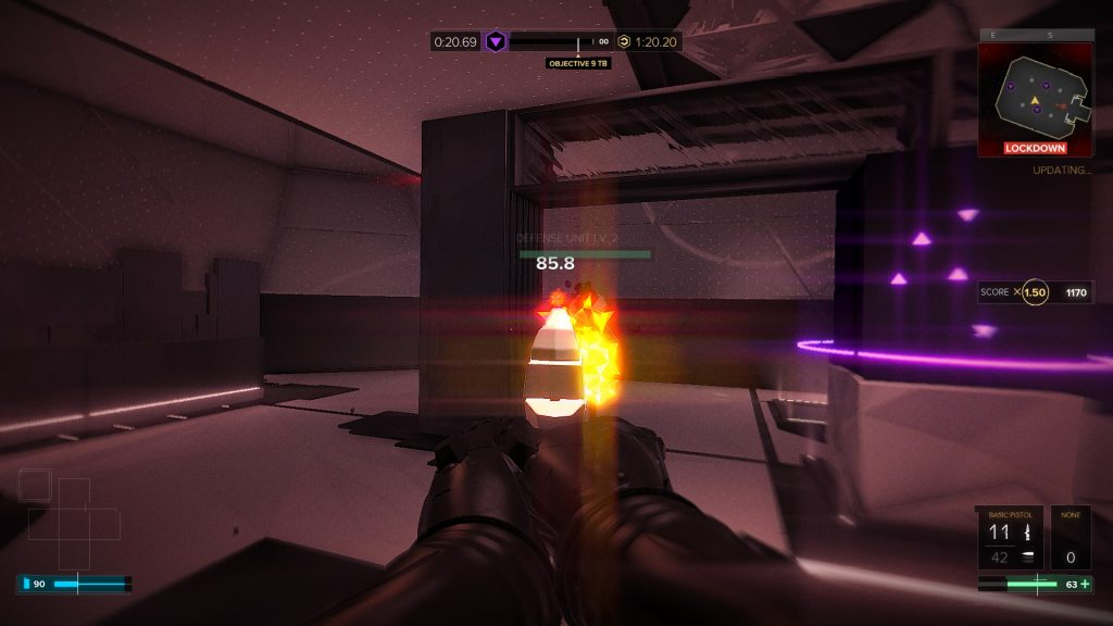 Breach lets you test your skills against other players, or just spend money for faster upgrades.