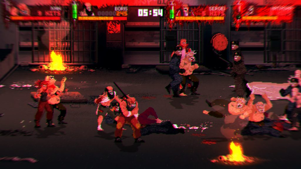 Fights can get downright insane when there's dozens of people on screen.