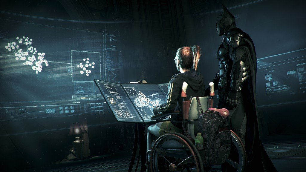 Babs finally gets some screen time in Arkham Knight, but she spends most of it as a damsel in distress.