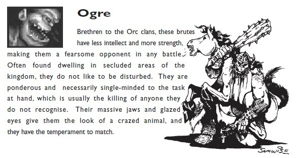 The human perspective of ogres