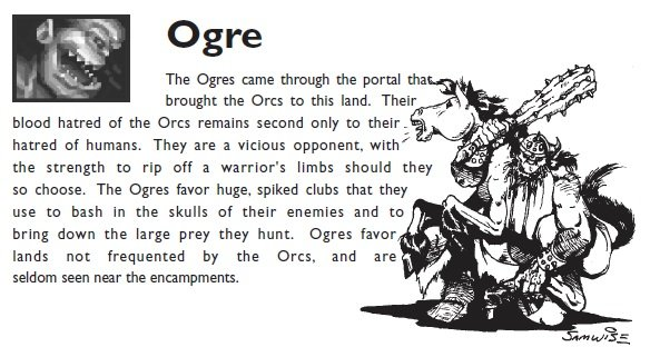 The orc perspective of ogres