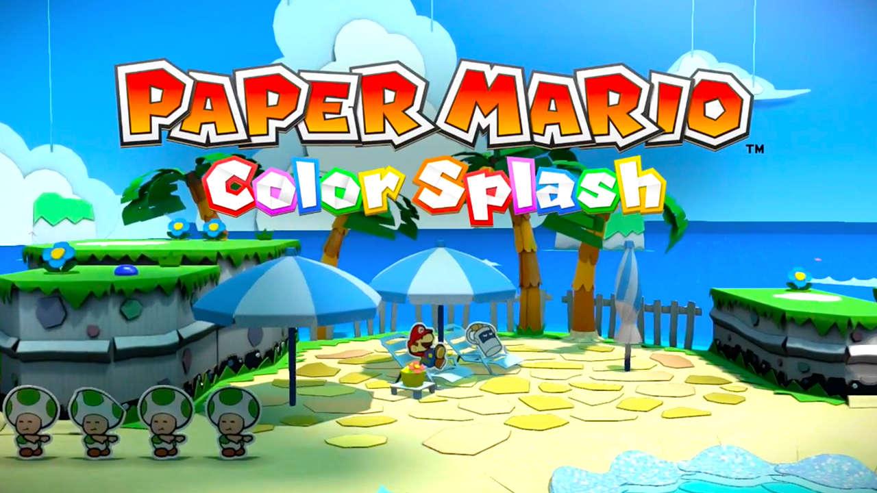 Nxpress Nintendo Podcast 70 Paper Mario Color Splash Goomba Stomp