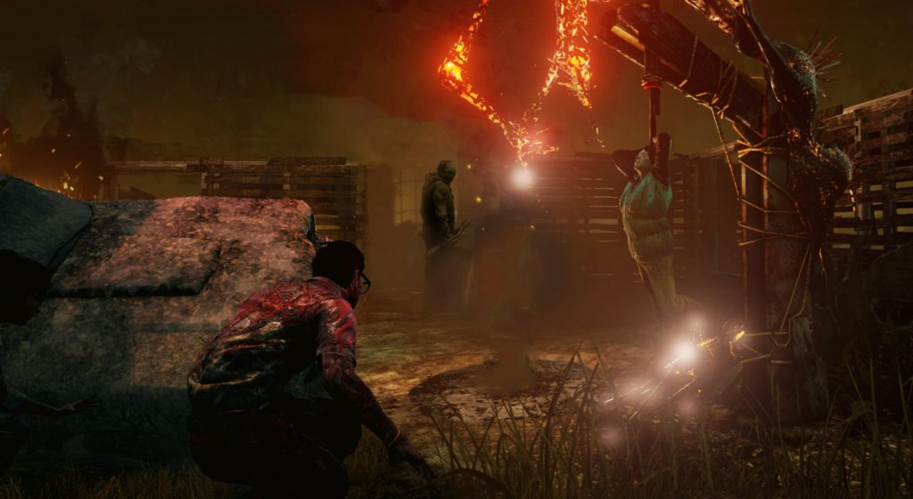 Dead by Daylight takes the concept to new, horrifying heights.