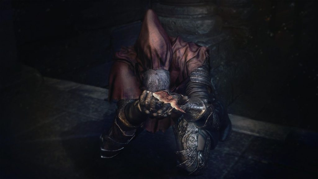 Never trust anyone in Dark Souls. They're literally all crazy.