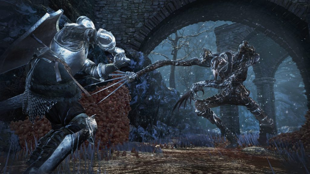 Enemies like the Corvian Knight will test the mettle of rookies and longtime veterans alike.