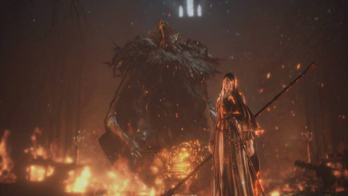 For all it's shortcomings, the finale of Ashes of Ariandel is challenging, intense, and very memorable.