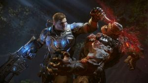 Gears of War is known for its brutal gameplay.