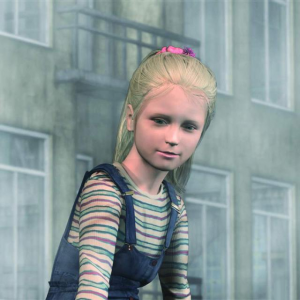 The mischievous Laura - Silent Hill 2