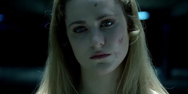Dolores (Evan Rachel Wood) is the oldest Host in Westworld, though she is only now beginning to realize the truth of her existence.
