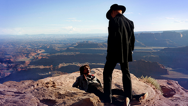 The mysterious and sadistic Gunslinger (Ed Harris) is a particularly unnerving denizen of this world.