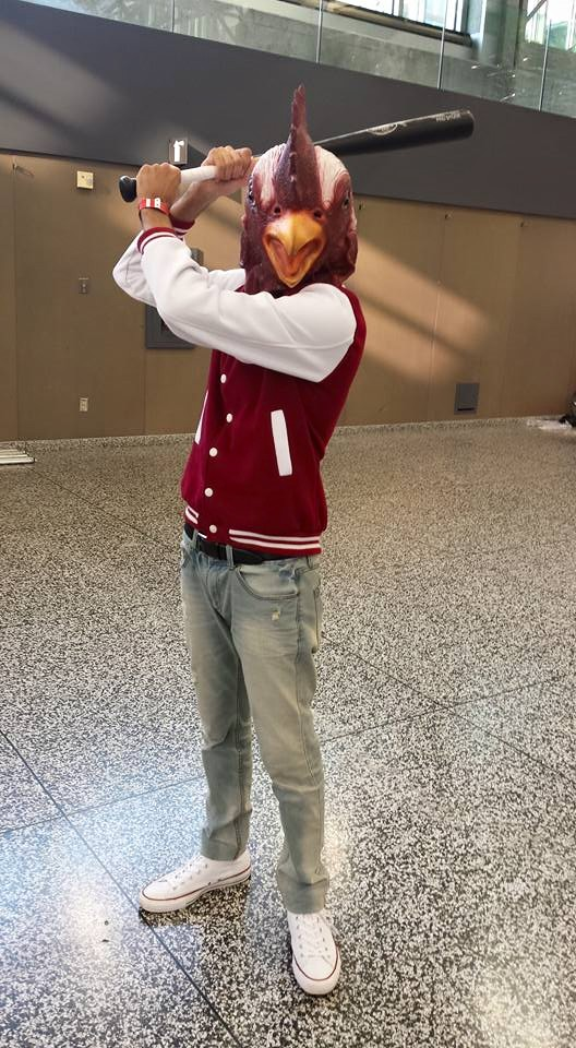 Cosplay costume: Jacket from Hotline Miami