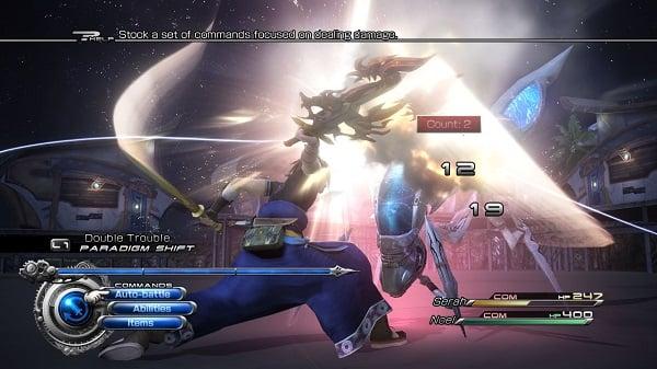 Final Fantasy XIII-2 Battle