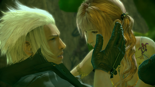 Final Fantasy XIII-2 Snow Serah Love