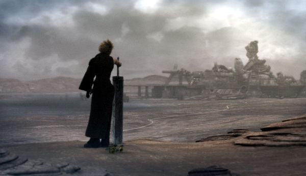 After finding himself in the original adventure, Cloud is back to being an emo for some reason.