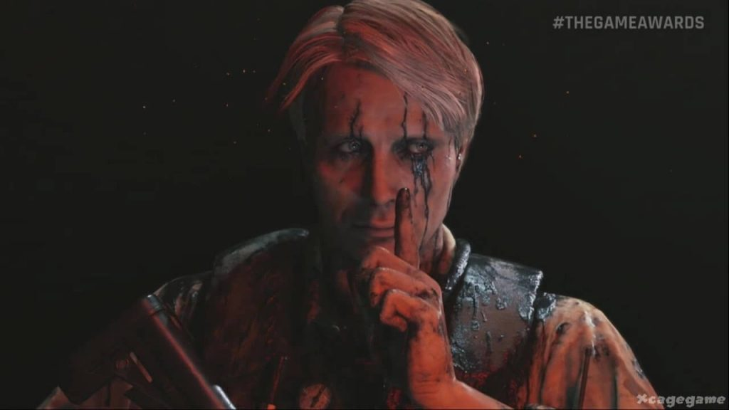The first look at Mads Mikkelson as the villain in Death Stranding