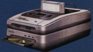 A prototype image of the SNES add-on.