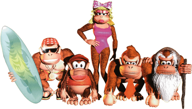 Kong_Family_artwork_from_Donkey_Kong_Country.