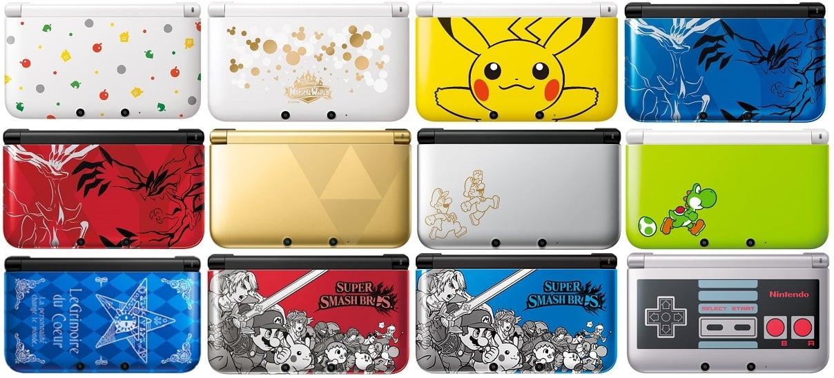 Top 6 Nintendo 3DS Design Variants