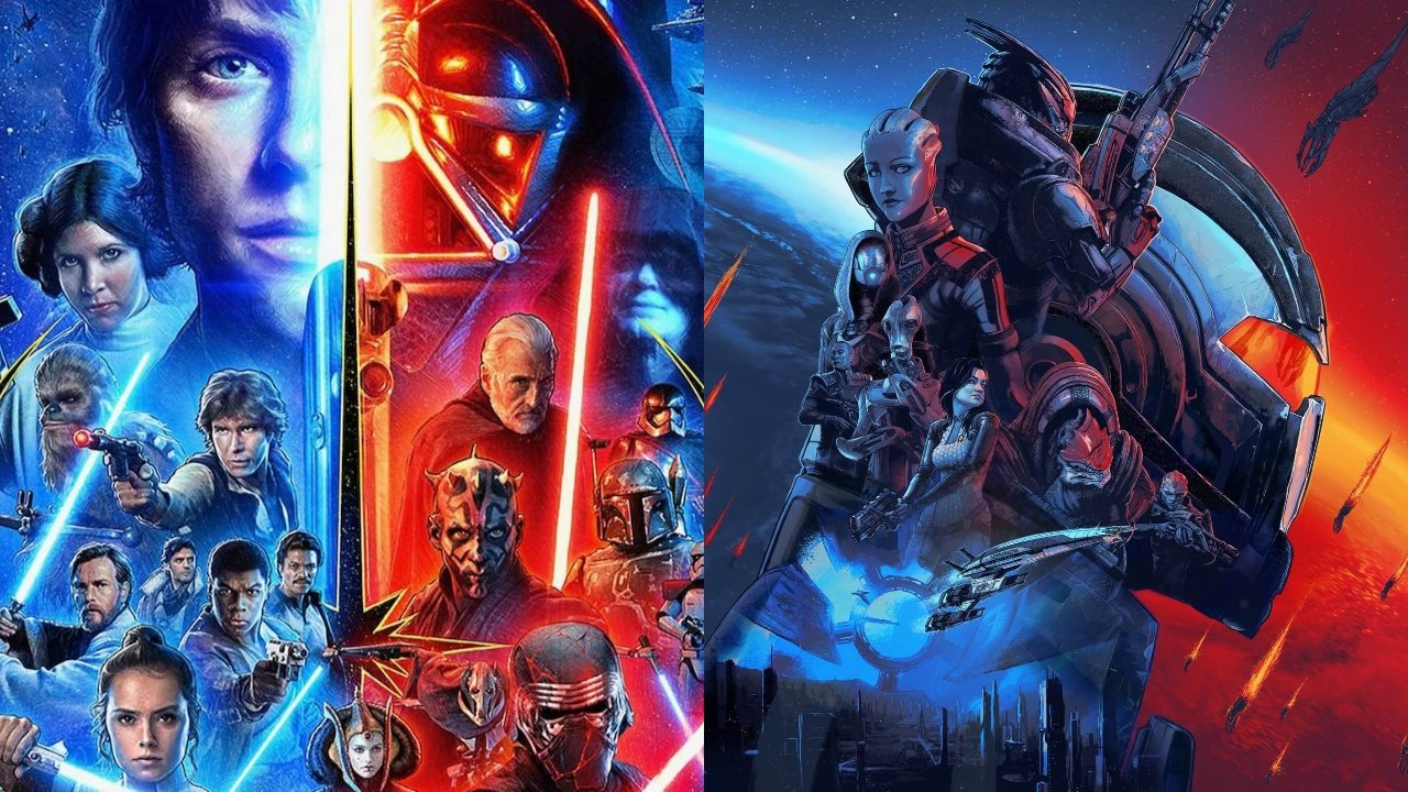 The Mass Effect Universe Is Superior To Star Wars