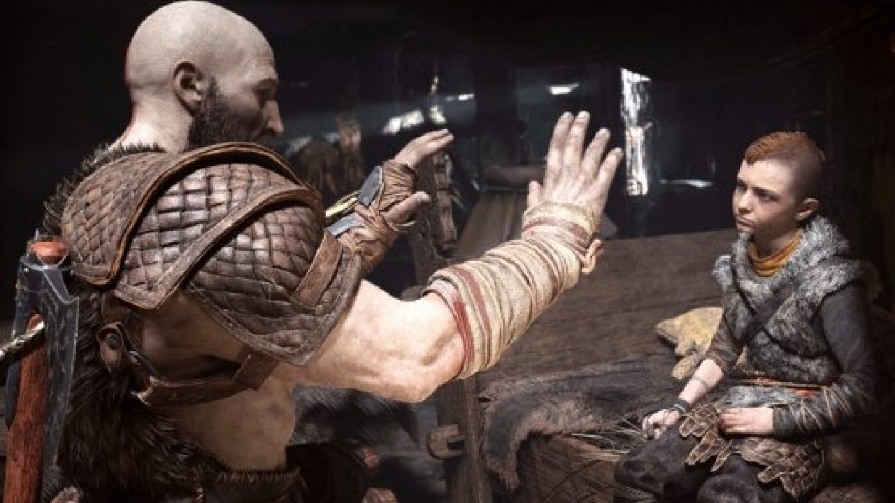 God of War father and son