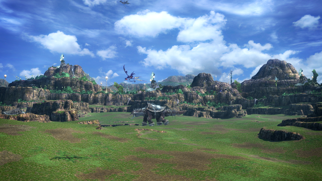 The Archylte Steppe from Final Fantasy XIII