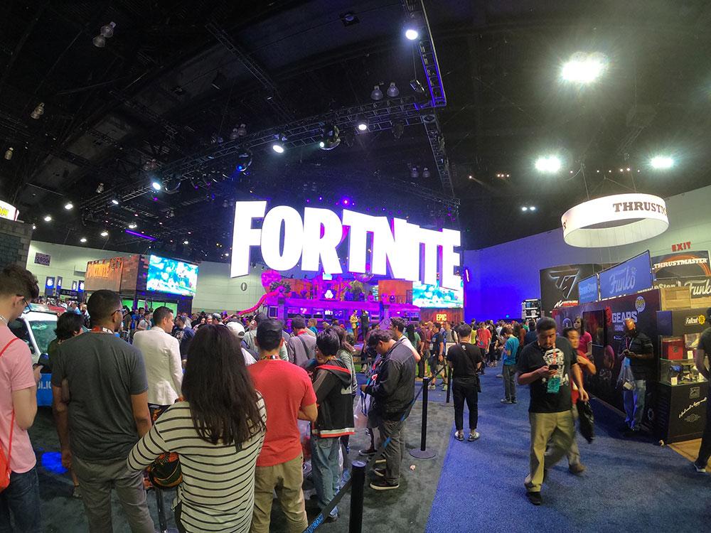 Fortnite E3 2018