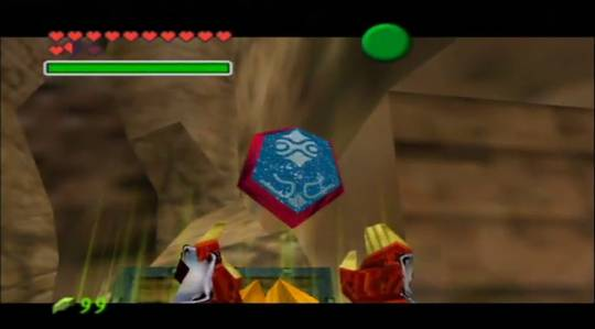 Inside the Spirit Temple in Ocarina of Time