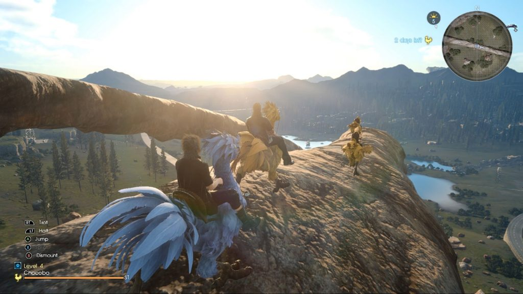The best way to explore the world of Eos has to be on the back of your faithful Chocobo companion - Final Fantasy XV