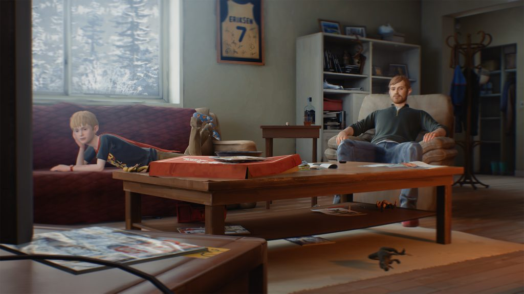 Chris and Charles Eriksen on a lazy Saturday morning - The Awesome Adventures of Captain Spirit