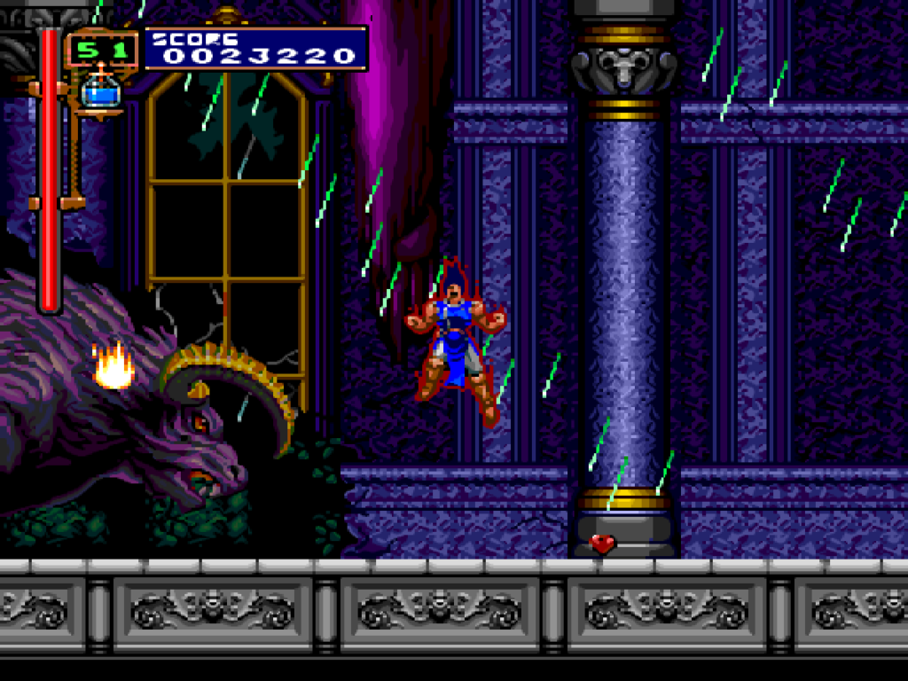 Rondo of Blood Item Crash